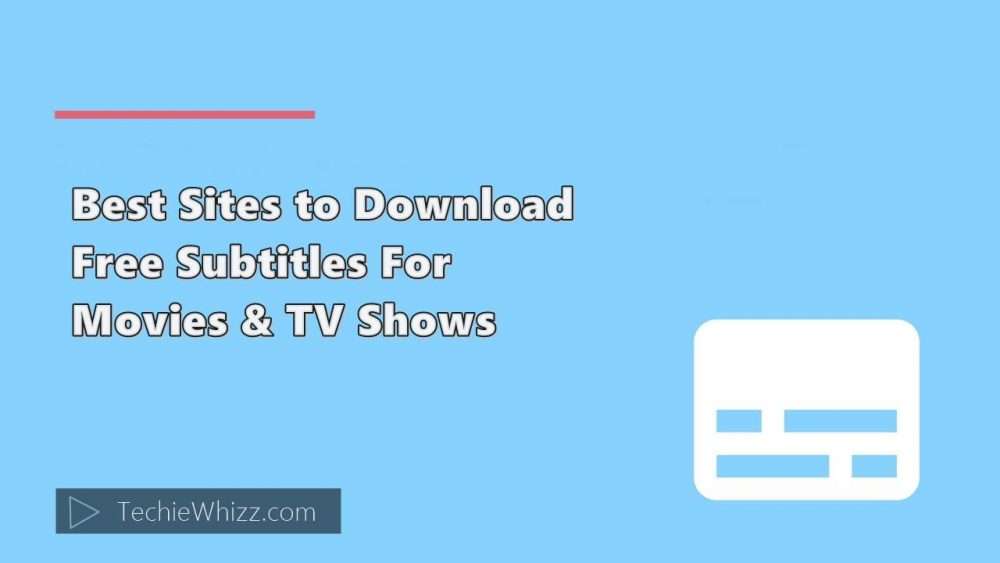 best free subtitle download sites