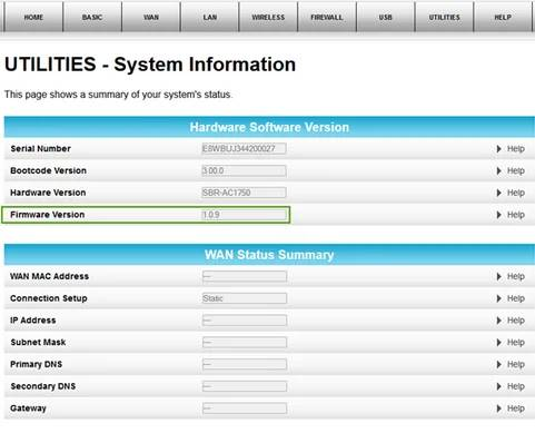 Update Firmware Arris tg1682g