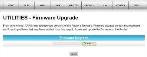 download Arris tg1682g firmware