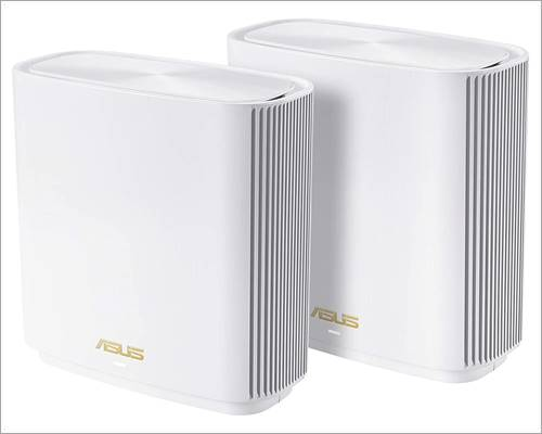 ASUS ZenWiFi AX6600 Tri-Band Mesh WiFi 6 System