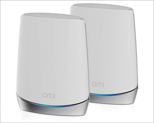 NETGEAR Orbi Whole Home Tri-band Mesh WiFi 6 System