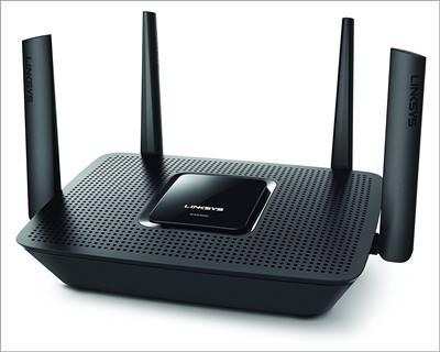 Linksys Tri-Band Long Range wifi Router for Home