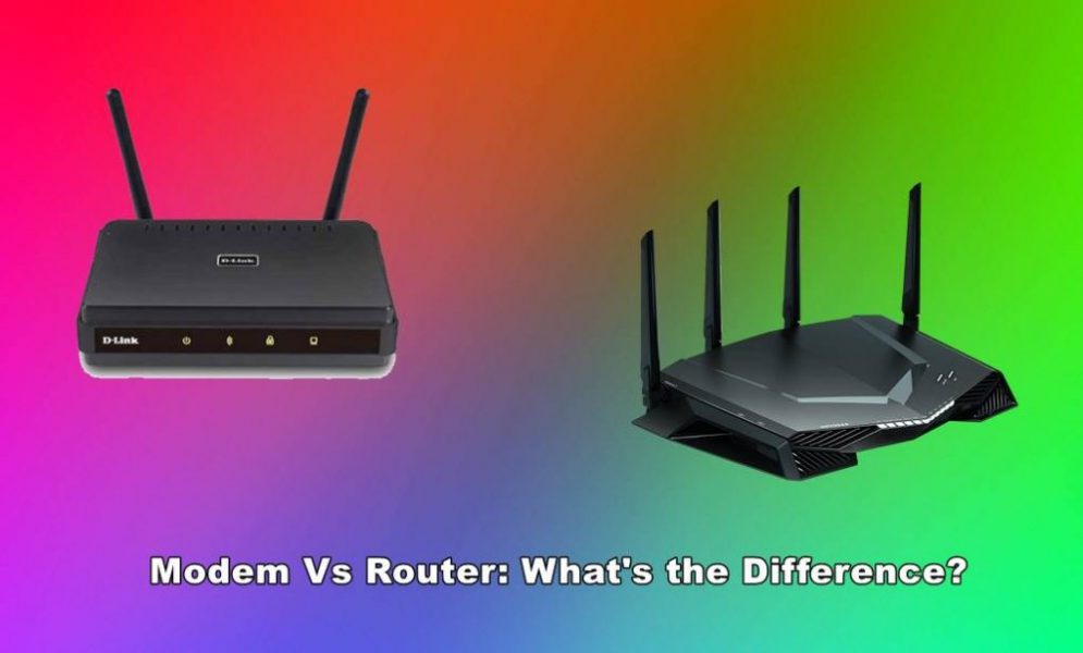 modem vs router: what is the difference between router and modem